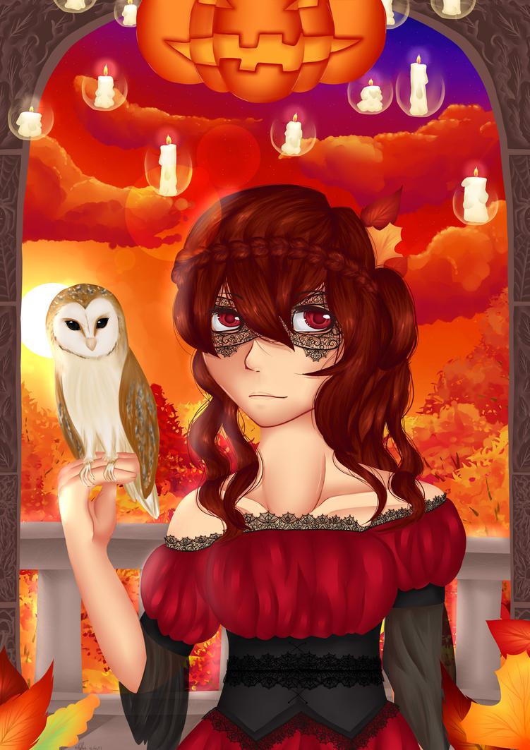 October Masquerade by RiddleMaker