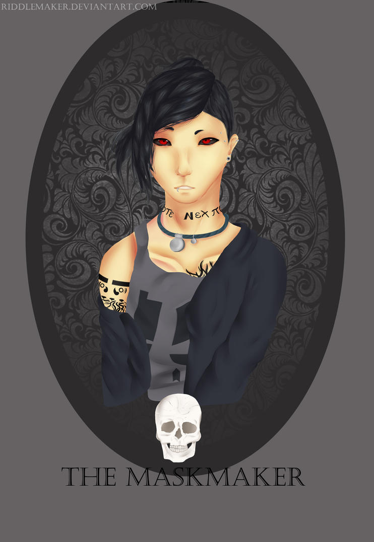 The Maskmaker Uta by RiddleMaker