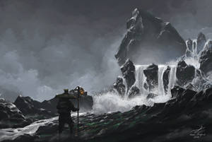 Waterfall by Narureaper