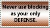 Blocking stamp by CrystalisZelda