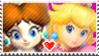 DaisyxPeach Stamp by CrystalisZelda