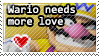Wario needs more love stamp by CrystalisZelda