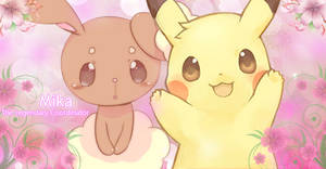 [Request] Buneary and Pikachu