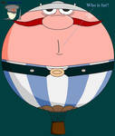 Obelix as balloon