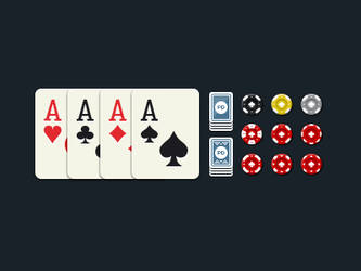 Some Poker Game graphics by QLKV