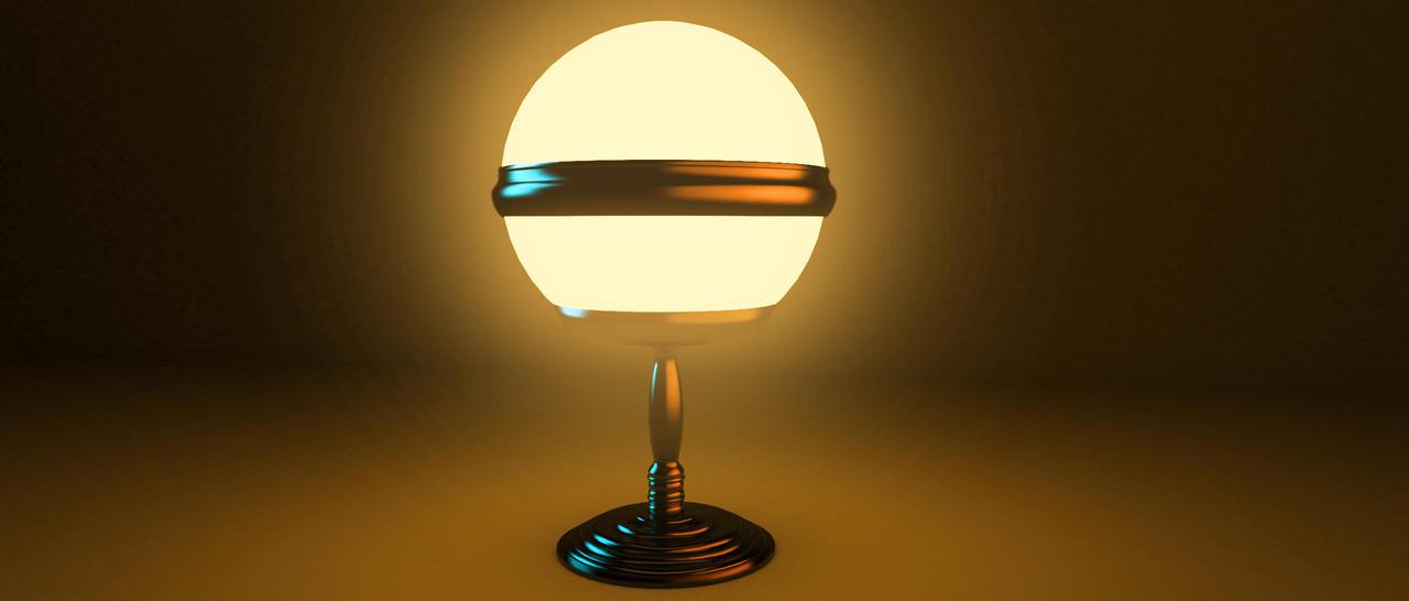 Retro Future Lamp By Ramdabam On Deviantart