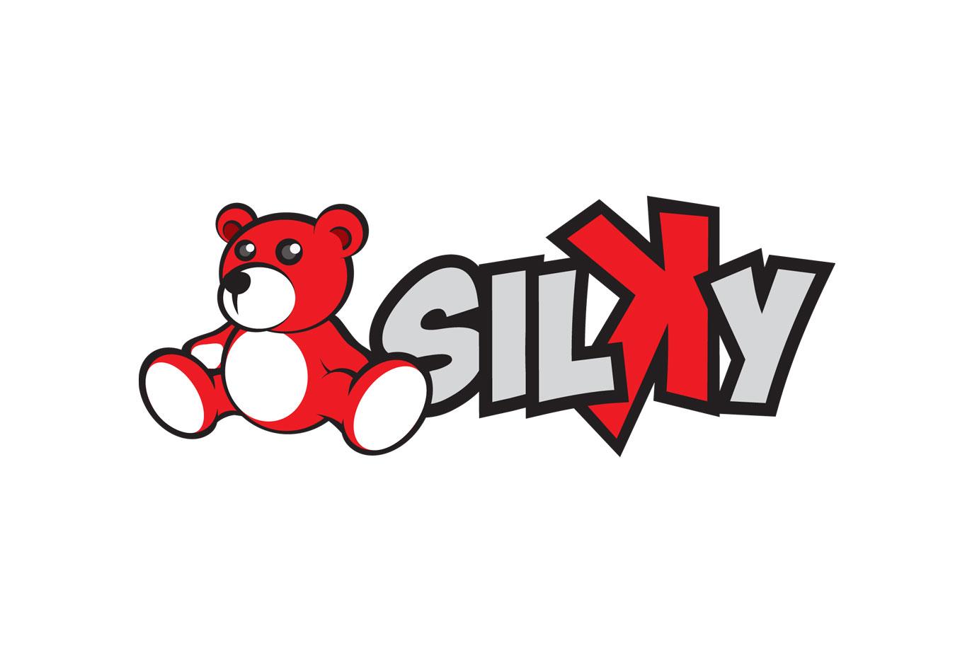 Silky logo by stpp