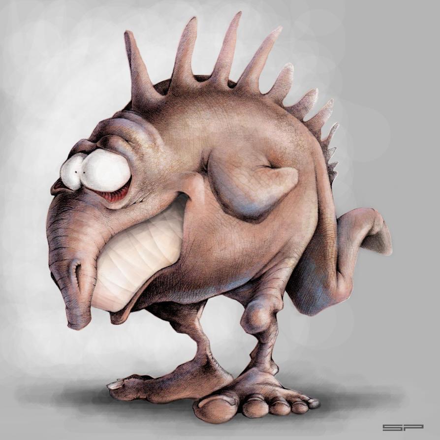 Some strange alien Chicken by stpp
