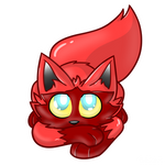 [Gift] The Red Poochyena by SolCharm