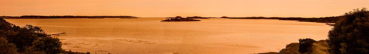 Tjoloholm Sunset Panorama