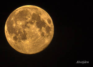 Supermoon in HDR