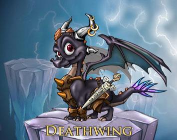 Chibi Deathwing by Luke-the-F0x