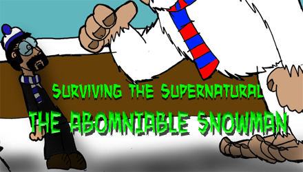 STS- The Abomniable Snowman by Luke-the-F0x