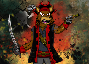 Giftart: The Dread Pirate Scurvy