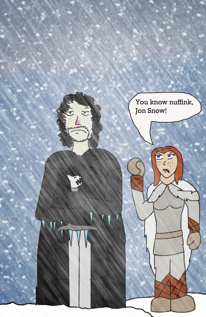 GOT: Winter is Coming by Luke-the-F0x
