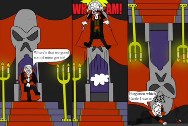 Castlevania SOTN Comic by Luke-the-F0x