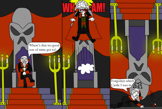 Castlevania SOTN Comic
