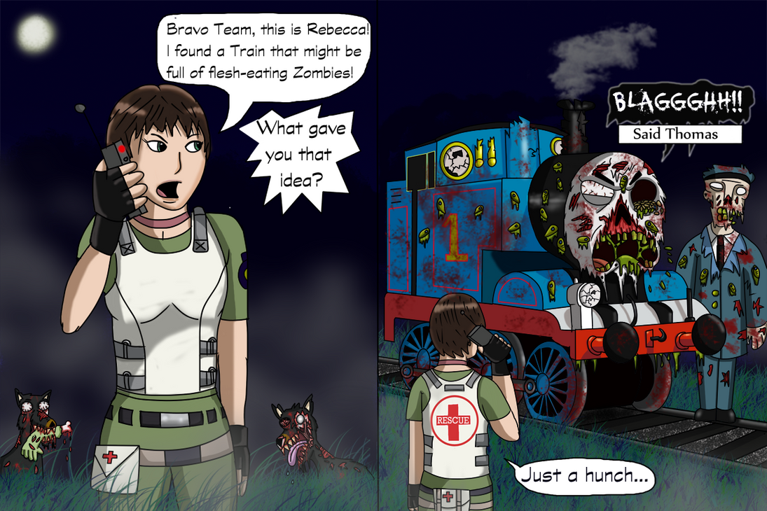 Resident Evil 0 Comic by Luke-the-F0x
