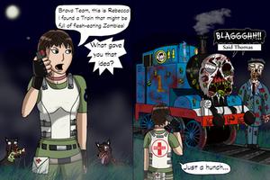 Resident Evil 0 Comic