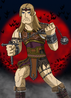 Slayers of the Night: Simon Belmont by Luke-the-F0x