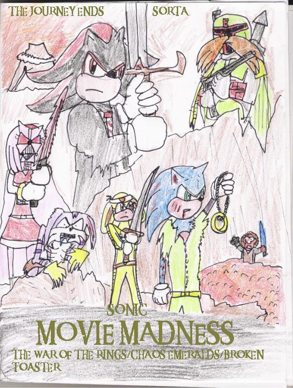 sonic movie madness poster 3 by lukethef0x on deviantart