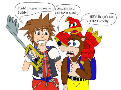 Sora and Banjo