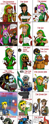 Link throughout the ages *updated* by Luke-the-F0x