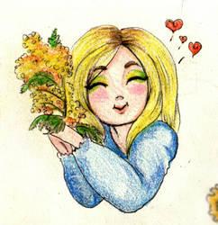 Girl Mimosa