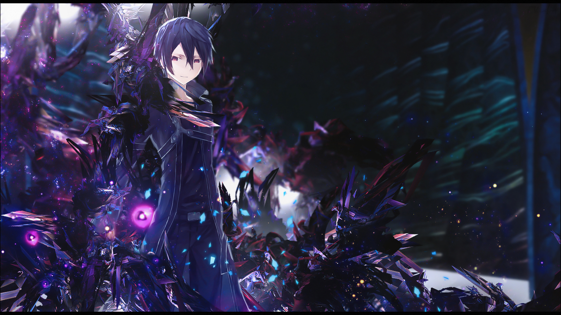 Sword Art Online Background: Sword Art Online Wallpaper By Greev On DeviantArt