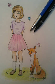 Girly and foxy