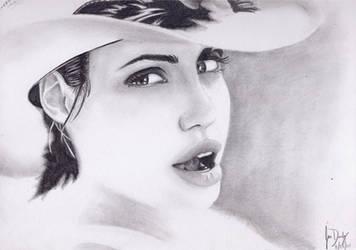 Angelina Jolie by FelixJD