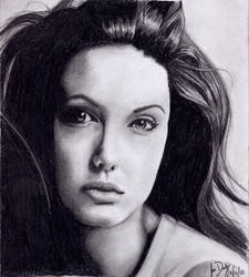 Angelina Jolie 2 by FelixJD