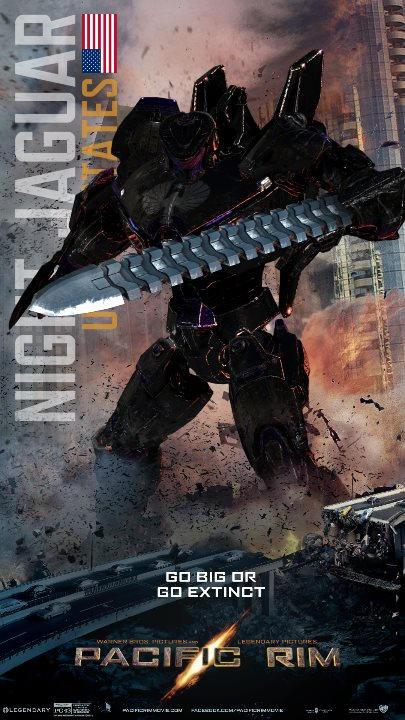 Pacific Rim Jaeger NIGHT JAGUAR