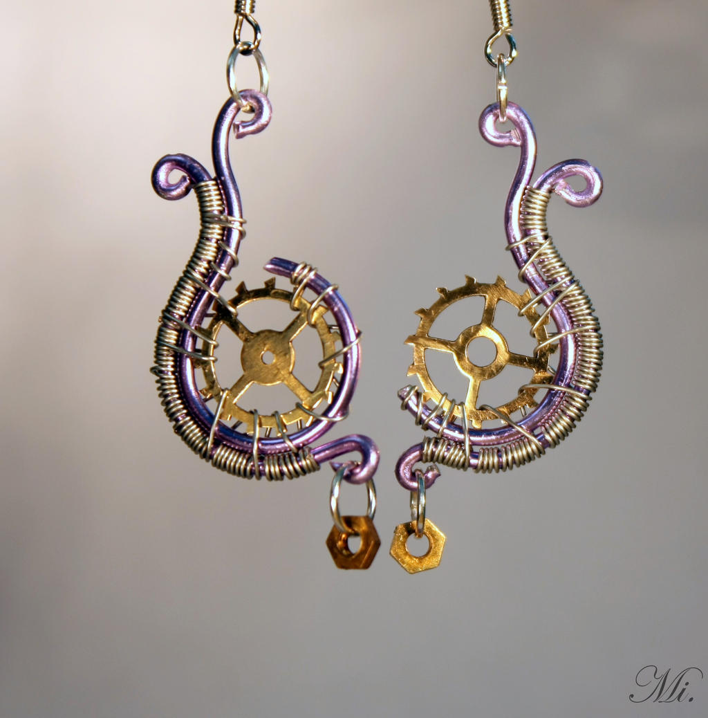Is Steampunk Jewelry A Craft Or An Art: Steampunk Earrings 11 By TheCraftsman On DeviantArt