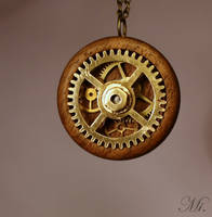 Steampunk pendant 36 by TheCraftsman