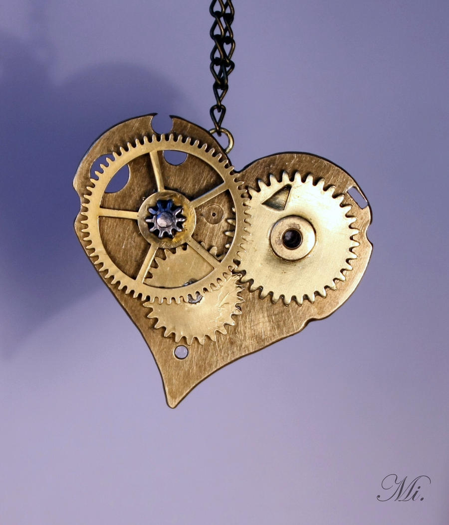 Steampunk heart 45 by TheCraftsman