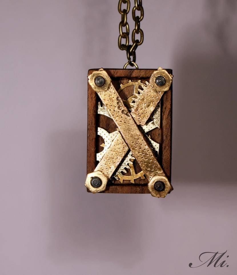 Steampunk pendant 50 by TheCraftsman