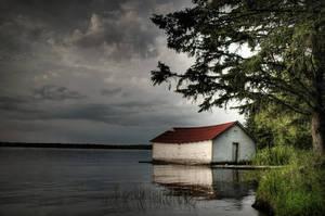 Ole Boathouse by HeatherWaller-Rivet