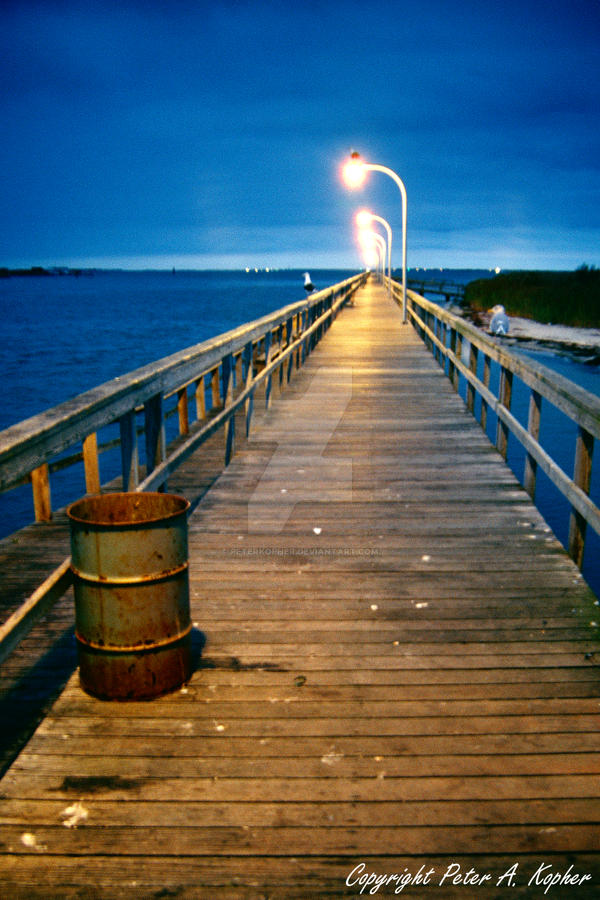 captree fishing pier by peterkopher on deviantart