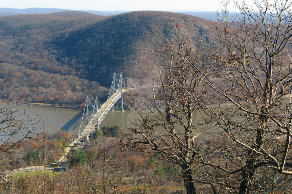 Bear Mountain Bridge,  the Hudson River and Anthon by peterkopher