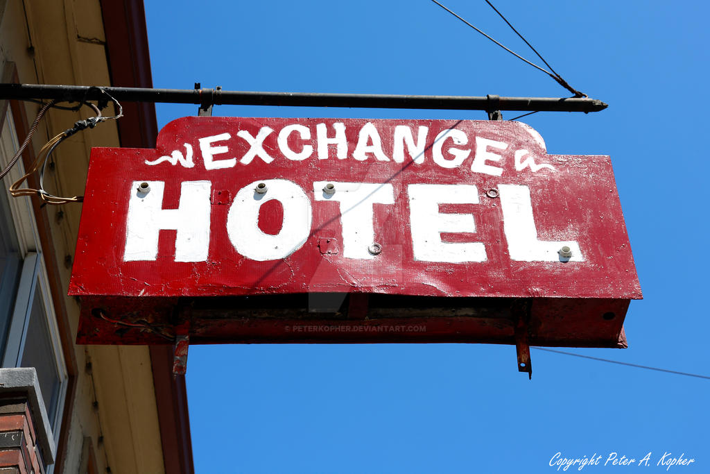 Exchange Hotel by peterkopher