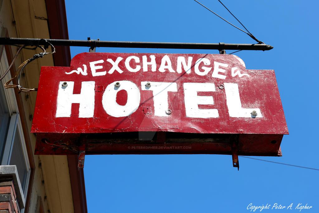 Exchange Hotel by peterkopher