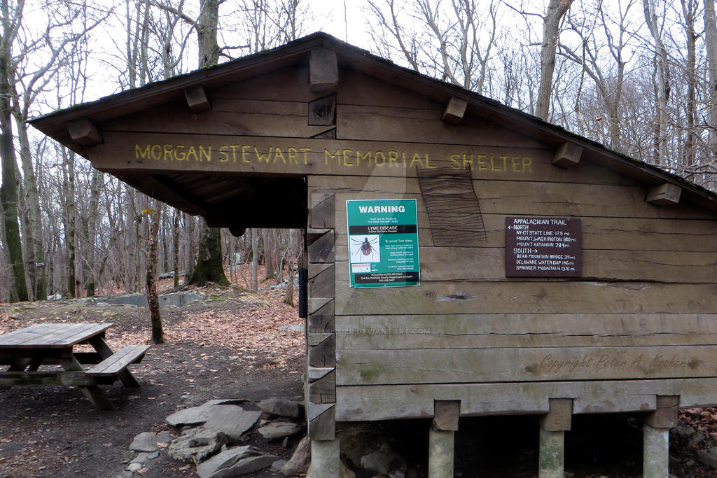Morgan Stewart Memorial Shelter by peterkopher