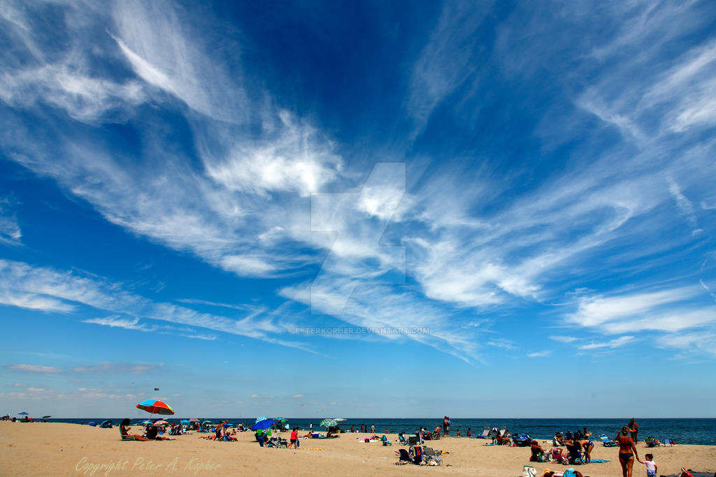 Big Sky over Long Branch by peterkopher