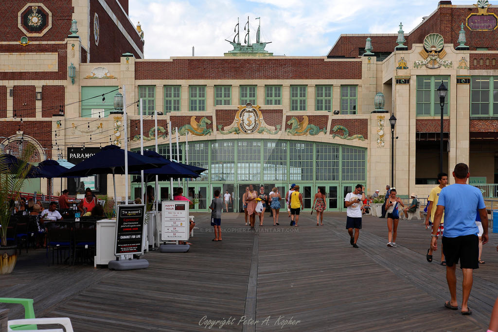 Asbury Park Boardwalk by peterkopher