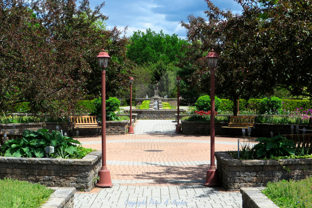 A Formal Garden by peterkopher