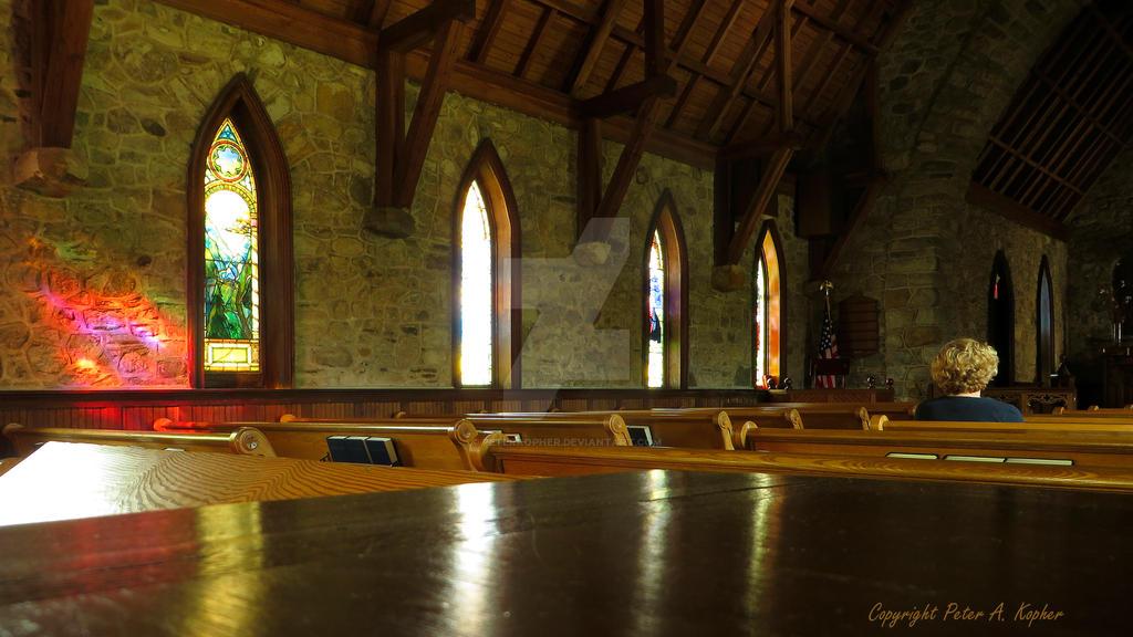 Lone Parishioner by peterkopher