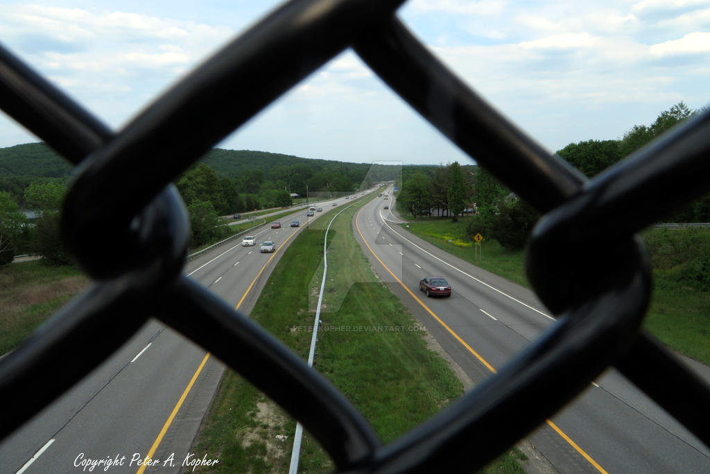 Route 17 in Monroe, NY by peterkopher