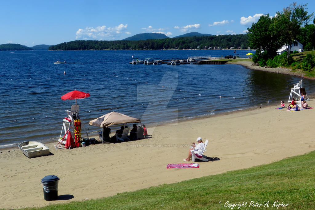 Schroon Lake Beach 3 by peterkopher