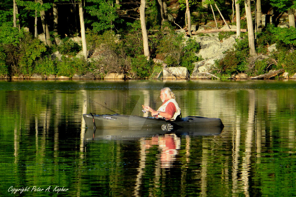 Gil at Breakneck Pond by peterkopher